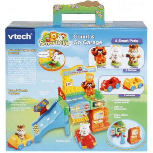 Vtech Count And Go Garage Musical